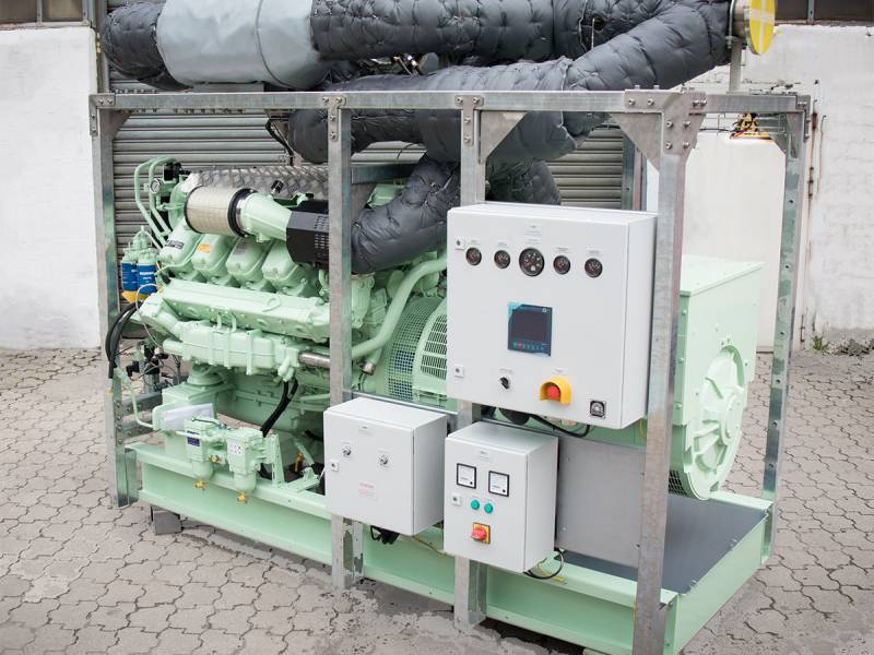 Auxiliary diesel generating sets