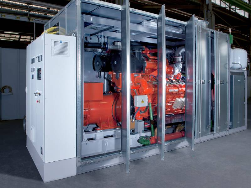 Lindenberg combined heat and power generation (CHP)